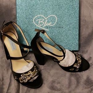 Betsey satin pumps